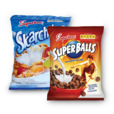 Cereal Super Balls ou Skarchitos